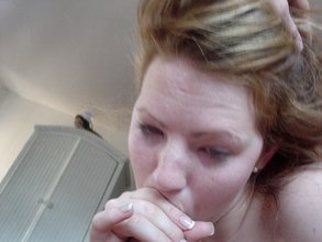 Pale-as-fuck blonde GF gets drilled by this dude's meaty cock in POV