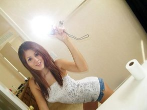 Luxurious teens posing half-naked - alone and next to each toher