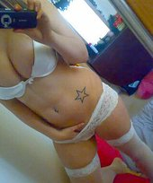 Troubled teen girl is into showing her gorgeous breasts